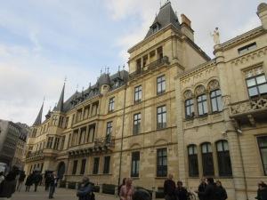 大公宮 ルクセンブルグ