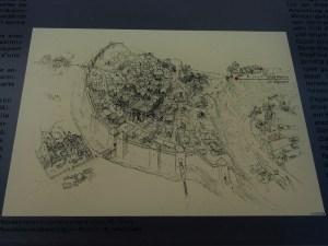 ルクセンブルグ 旧市街図