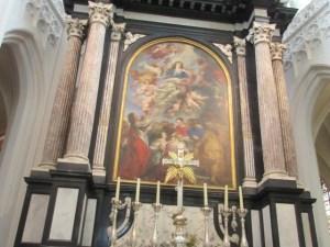 天にのぼる聖母マリア ノートルダム寺院 アントワープ