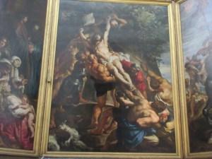 十字架にのぼるキリスト ノートルダム寺院 アントワープ