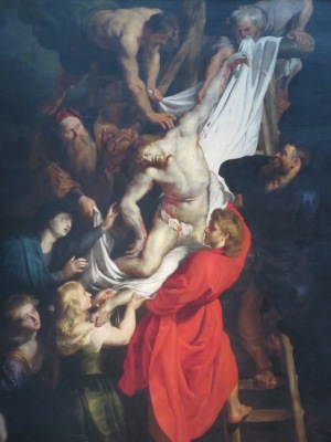 十字架からおろされるキリスト ノートルダム寺院 アントワープ