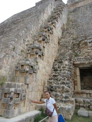占い師のピラミッド ウシマル遺跡