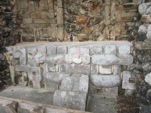 大ピラミッド神殿のチャーク