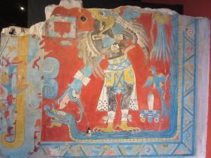 カカシュトラ遺跡の壁画 人類学博物館