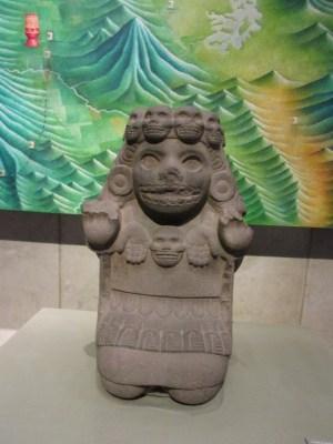ドクロの神像 アステカ