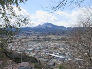 沼田城址 丘の上からの景色