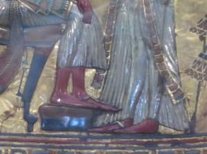 ツタンカーメン王の黄金の王座