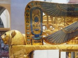 ツタンカーメン黄金の王座