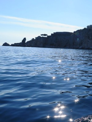タオルミーナ イゾラペッラ湾の真珠