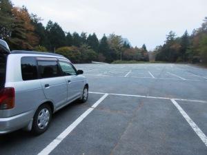 榛名山 掃部ケ岳登山 町営駐車場
