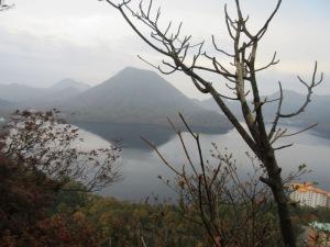 掃部ケ岳登山 硯岩からの眺め