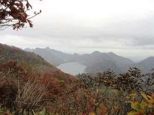 掃部ケ岳登山 西峰からの眺め
