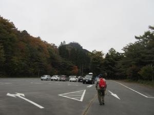 掃部ケ岳登山 東吾妻町町営駐車場