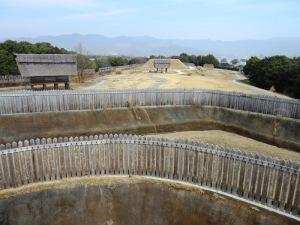 吉野ヶ里遺跡 城柵