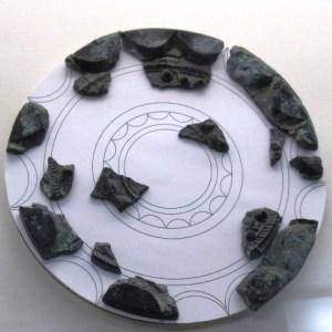 須玖岡本遺跡 連弧文銘帯鏡