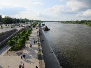 ワルシャワ ビスワ川