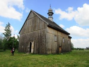 ウォヴィッチの古民家博物館の教会