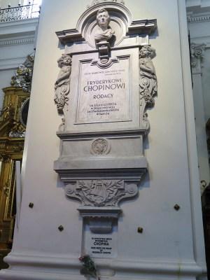 ワルシャワ ショパンの心臓が眠る聖十字架教会
