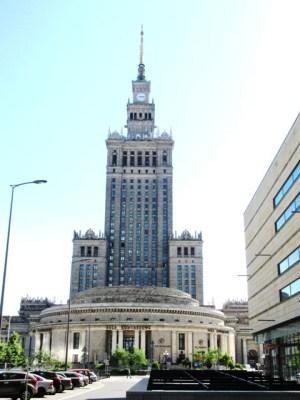 ワルシャワ 文化科学宮殿