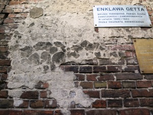 A part of the Ghetto wall