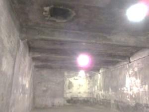 第一アウシュヴィッツ強制収容所ガス室内部