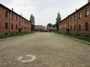 第一アウシュヴィッツ強制収容所点呼広場