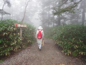 西穂丸山登山