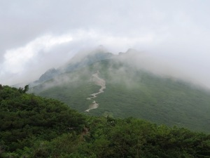 西穂丸山登山 西穂高方面