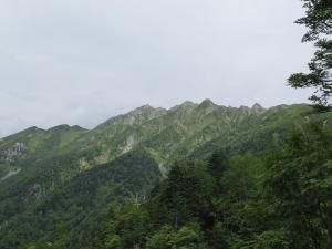 西穂丸山登山 西穂高岳