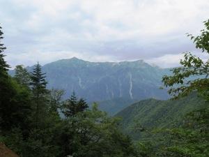 西穂丸山登山 笠が岳