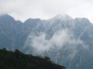 西穂丸山登山 明神岳