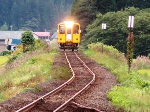 秋田内陸鉄道松葉駅