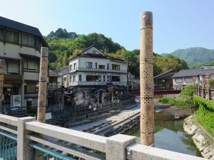 湯村温泉 温泉橋