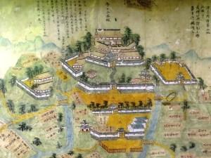 春日山城 古図