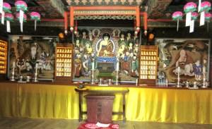 束草 新興寺 三聖閣の神様
