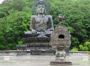 束草 新興寺 統一仏