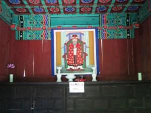 ピョンチャン 月精寺 城隍閣 神位