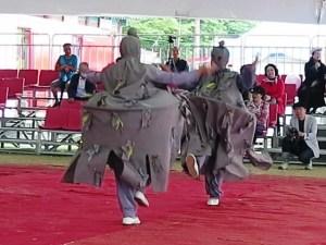 カンヌン端午祭仮面劇ジャンジャマリの舞踏