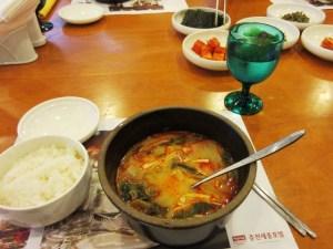 韓国 チュンチョン ホテルの朝食