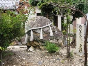 長浜 豊国神社 虎石