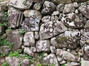 彦根 彦根城 石垣