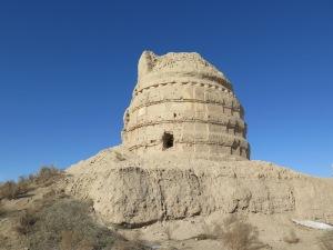 瓜州 鎖陽城遺跡 塔ル寺