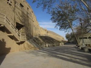 莫高窟 石窟群 北門
