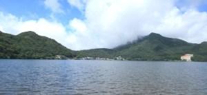 榛名湖湖畔風景