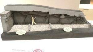 高崎市観音塚古墳 石室模型