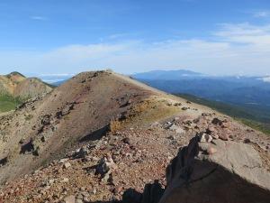 吾妻小富士 山頂